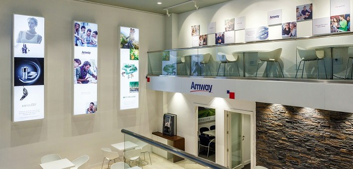 Nuevo Amway business Center en Madrid